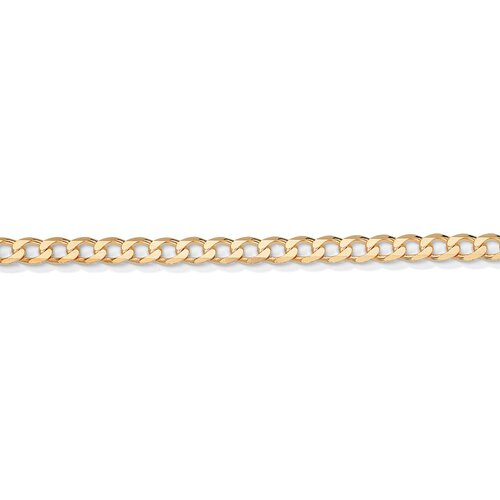 Palm Beach Jewelry Gold Curb-Link Necklace