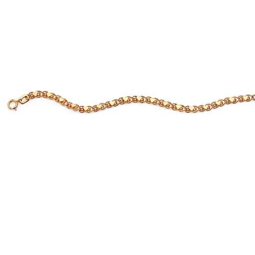 Palm Beach Jewelry Heart Link Ankle Bracelet