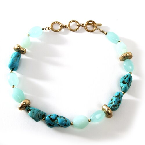 Viennese Turquoise Necklace