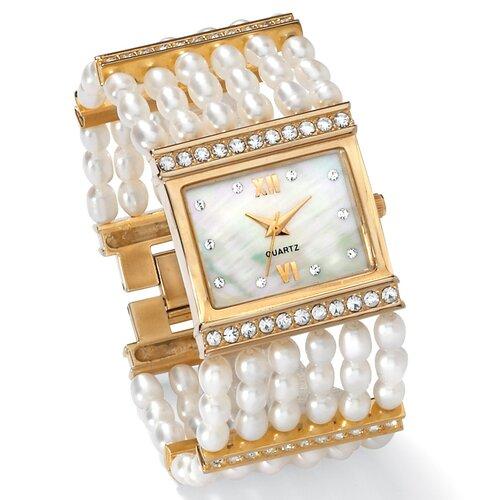 Palm Beach Jewelry Pearl Watch
