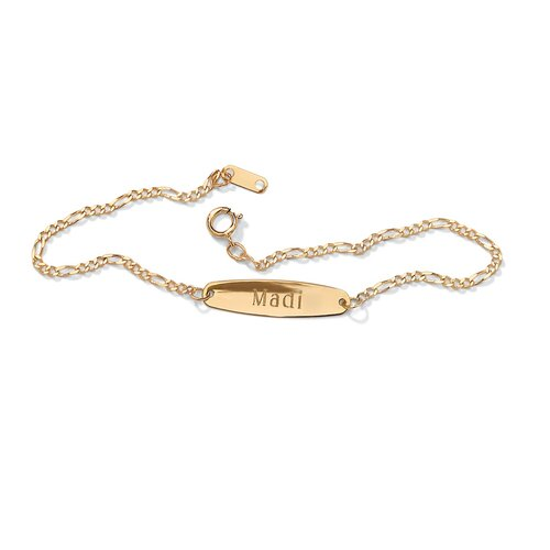 Palm Beach Jewelry Personalized Ankle Bracelet