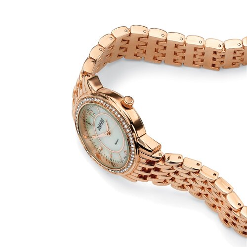 Palm Beach Jewelry Diamond Accent Panther Link Watch