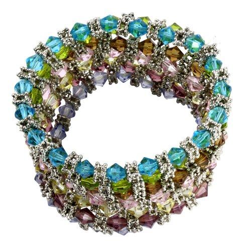 Crystal Beaded Bracelet (Set of 7)