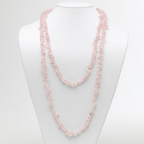 Palm Beach Jewelry Rose Quartz Nugget Strand Necklace