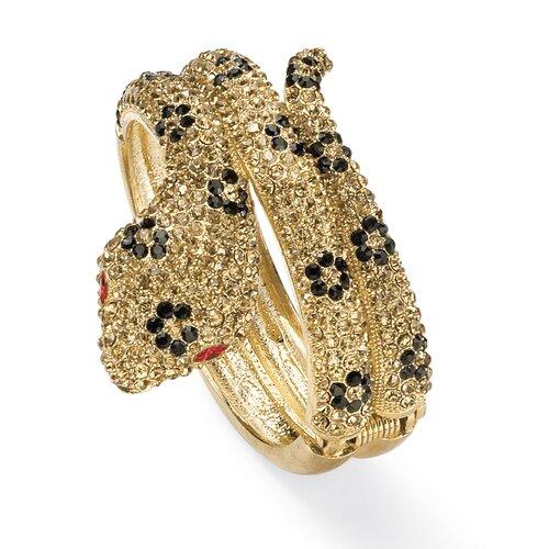 Crystal Snake Bangle Bracelet