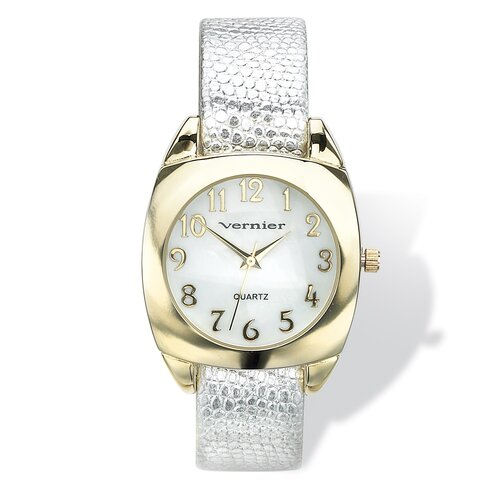 Palm Beach Jewelry Women's Interchangeable Band Watch Set