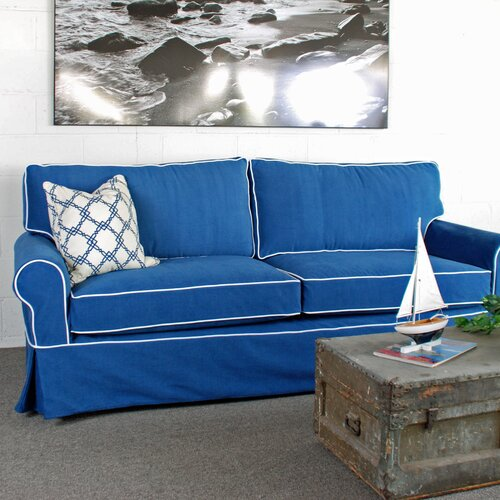 Huntington Industries Sandy Slipcovered Sofa