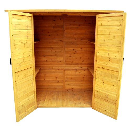 Leisure Season 6ft. W x 3ft. D Wood Lean-To Shed