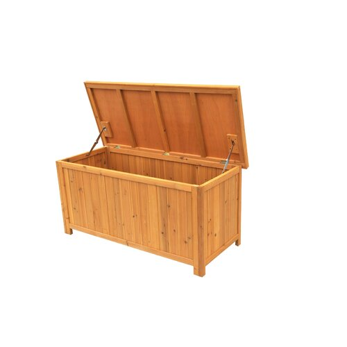 Leisure Season Wood Deck Box