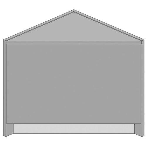 Paragon Furniture Circulation Closed Corner Unit