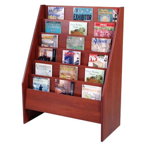 Paragon Furniture 6 Pocket Magazine Display