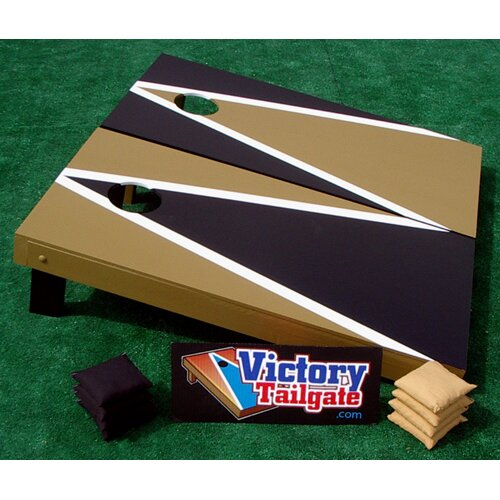 Alternating Triangle Cornhole Bean Bag Toss Game