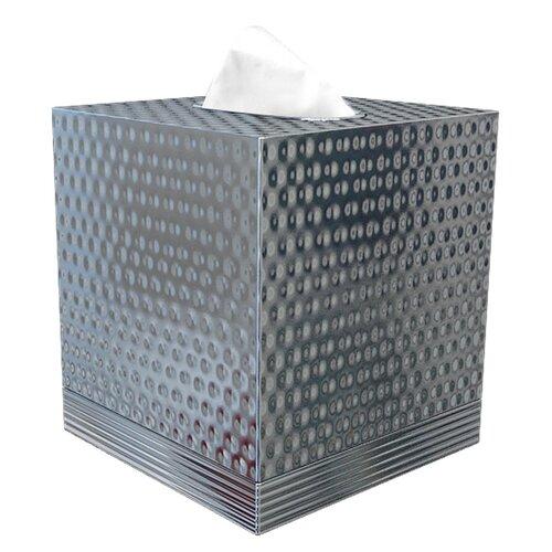 NU Steel Special Hammered Boutique Tissue Holder