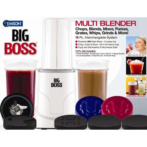 Big Boss 15 Piece Multi Blender System