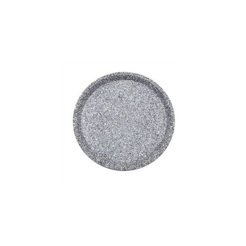 """Buffet Enhancements Chefstone 18"""" Round Serving Tray"""