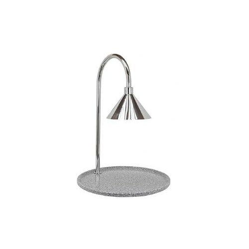 Contemporary Single Stainless Steel Lamp Round Carving Station