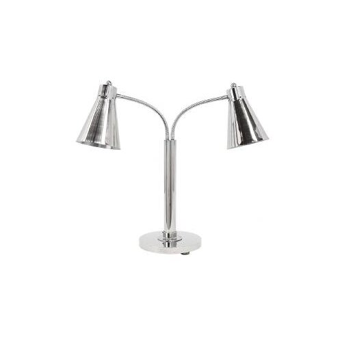 Multi-Flex Stainless Steel Twin Heat Lamp