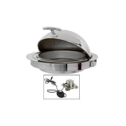 Classic Empire Style Round Electric Counter Drop-In Chafing Dish