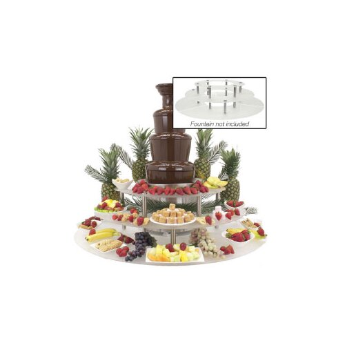Buffet Enhancements Chocolate Fountain Display Riser