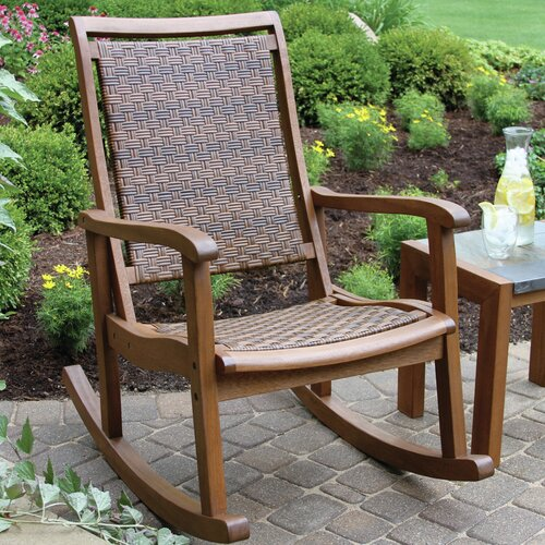 Outdoor Interiors Rocker Chair Reviews Wayfair