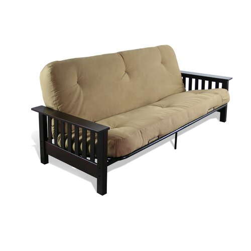 Elite Products Malibu Full Futon Frame