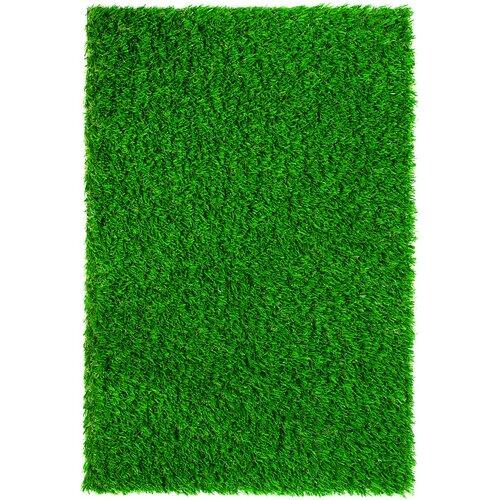 "Everlast Turf Diamond Light Spring 90"" x 90"" Synthetic Lawn Grass Turf"