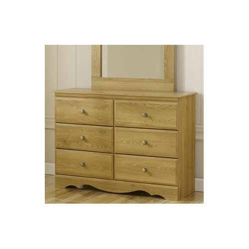 Oak Creek 6 Drawer Dresser