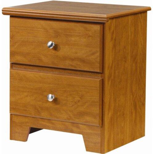 Lang Furniture Columbia 2 Drawer Nightstand