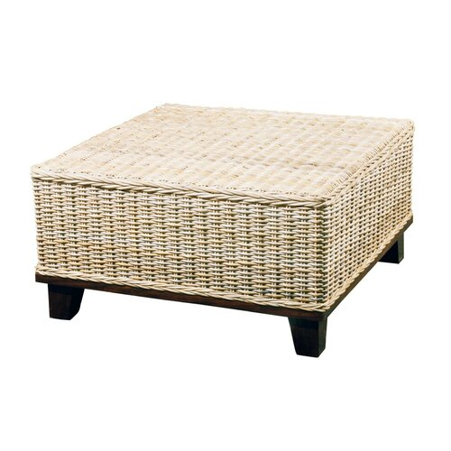 Woven rattan coffee table wayfair for Furniture classics ltd coffee table