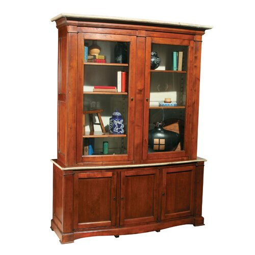Bowfront Curio Cabinet Wayfair