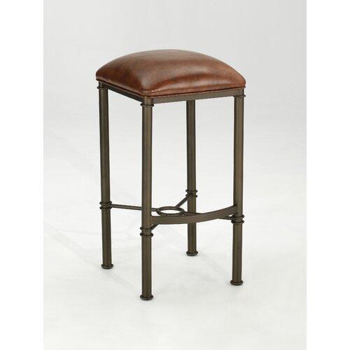 "Dynasty Furniture Industries Inc. Cayson 30"" Swivel Bar Stool with Cushion"