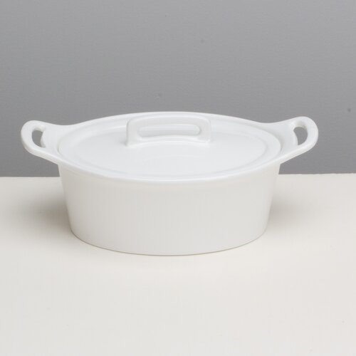 Oven Classics Small Oval Baker with Lid
