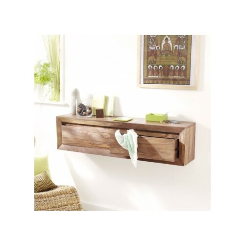 tikamoon villa palisander wall console table wayfair uk. Black Bedroom Furniture Sets. Home Design Ideas