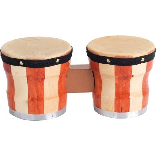 Two-Tone Wood Bongos / Drum
