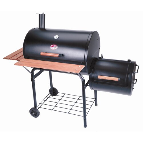 Char-Griller Smokin Pro Charcoal Grill and Smoker