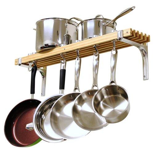 Cooks Standard 6 Hooks Wall Mount Pot Rack Amp Reviews Wayfair