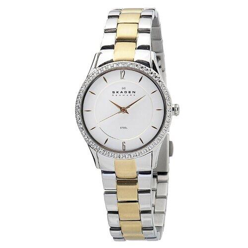Steel Women's Crystal Watch