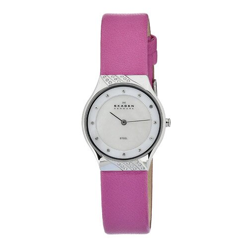 Leather Swarovski Women's Leather Watch