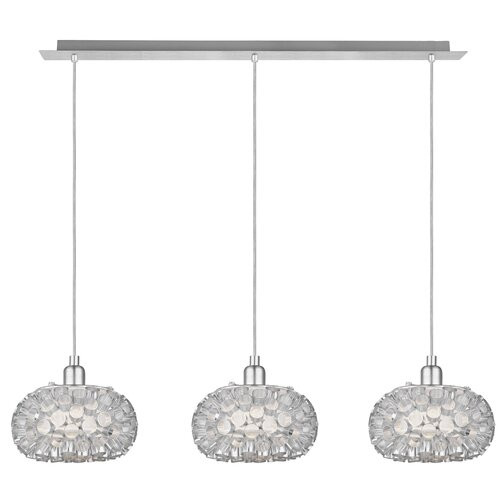 EGLO Rebell 3 Light Kitchen Island Pendant