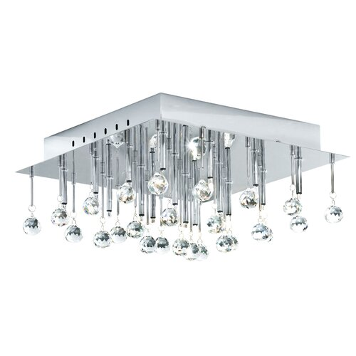 EGLO Soraya 16 Light Semi Flush Ceiling Light