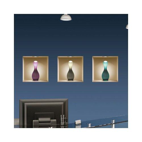 Nisha 3D Effect Vase Wall Decal (3-Piece Set)