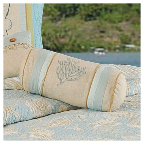 C & F Enterprises Natural Shells Neckroll Pillow