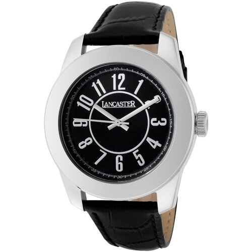 Lancaster Unisex Non Plus Ultra Arabic Round Watch