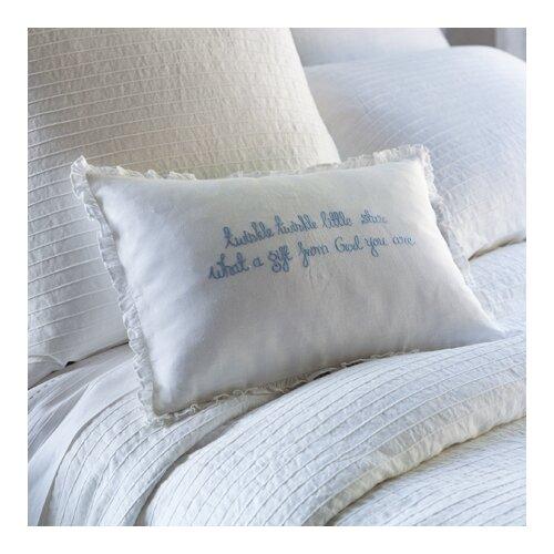 Taylor Linens Twinkle Twinkle Little Star Linen Pillow