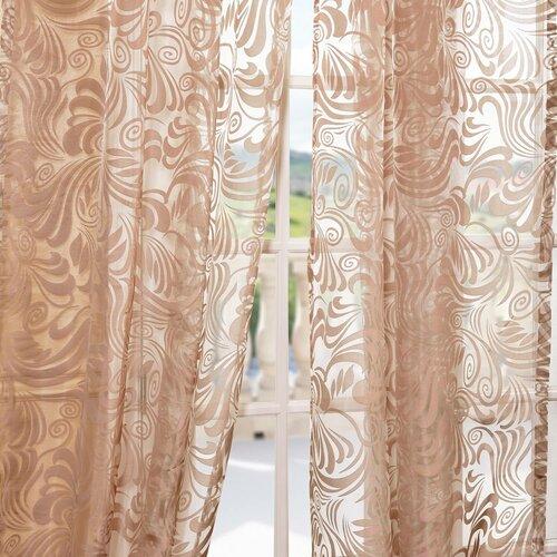 Half price drapes wayfair for Patterned sheer curtain panels