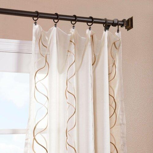 curtains drapes wayfair. Black Bedroom Furniture Sets. Home Design Ideas