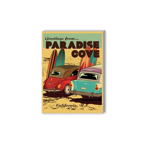 'Paradise Cove' by Diego Patino Vintage Advertisement