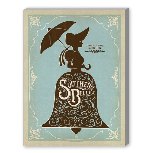 Southern Belle Graphic Art on Canvas