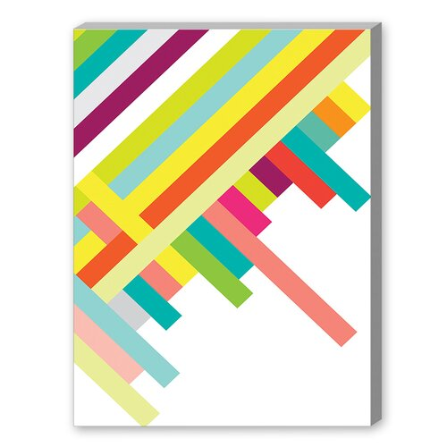 Spring Geometry Poster Graphic Art on Canvas