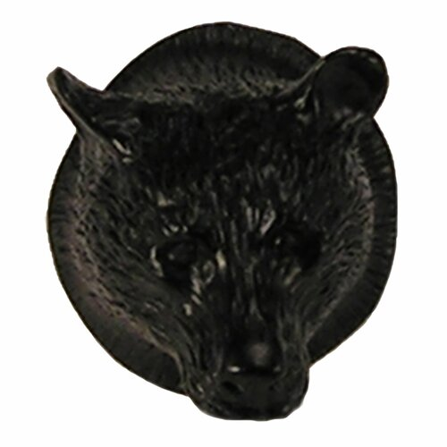 "Anne at Home Curiosities 1.5"" Bear Head Knob"